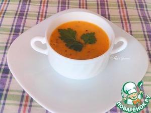 Поставить кастрюлю опять на огонь, довести до кипения. Суп готов!   Разлить суп по чашкам, добавить сливки (по желанию), но и без сливок суп получается очень вкусный.