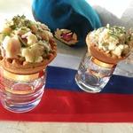 Тарталетки с селёдочкой