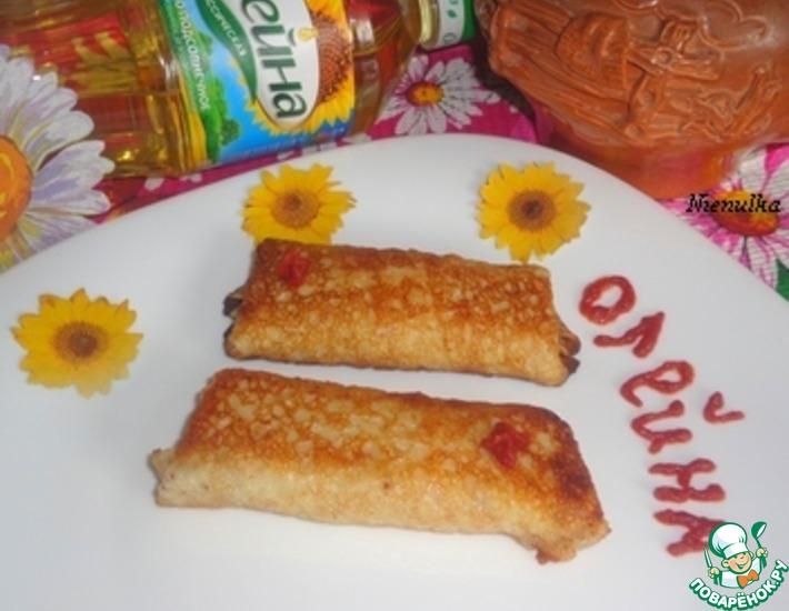 Рецепт: Начинка из капусты и тыквы для блинов