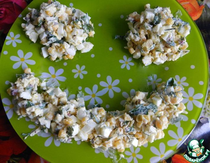 Рецепт: Салат Завтрак студентки