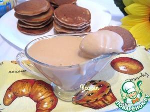 Serve pancakes with on-olstyn layer of cream-caramel!