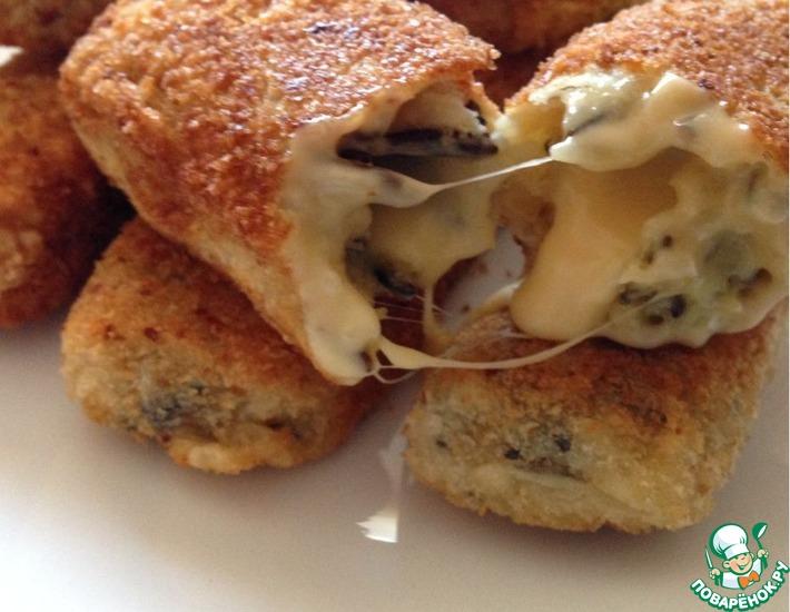 Рецепт: Рисовые сырные палочки
