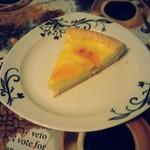 Творожно-лимонный пирог из песочного теста