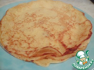 """Bake the pancakes on his favorite recipe in sunflower oil TM """"they"""""""