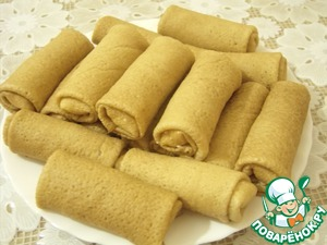 Wrap each pancake with 1 full tablespoon of the filling.
