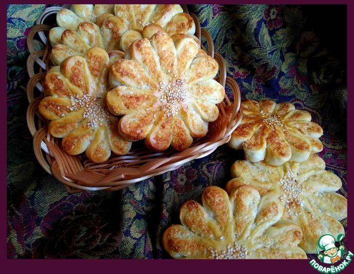 Рецепт: Булочки Кокосовые солнышки