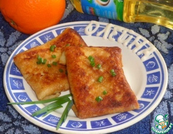 Рецепт: Рыбно-овощная начинка для блинов