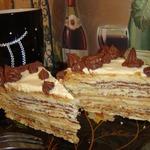 Торт Наполеон в шоке