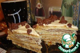 Рецепт: Торт Наполеон в шоке
