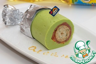 Рецепт: Блин наоборот А-ля мороженое