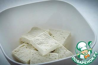 Рецепт: Соевый творог тофу