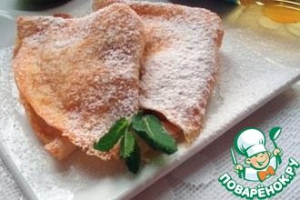 Рецепт: Сырно-яблочная начинка для блинчиков