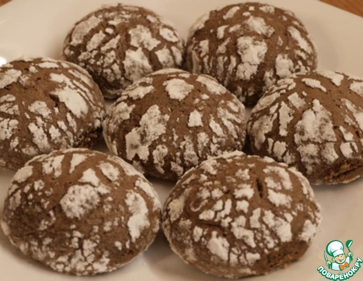 Рецепт: Мраморное печенье