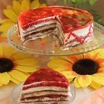 Шоко-блинный торт для Олейны