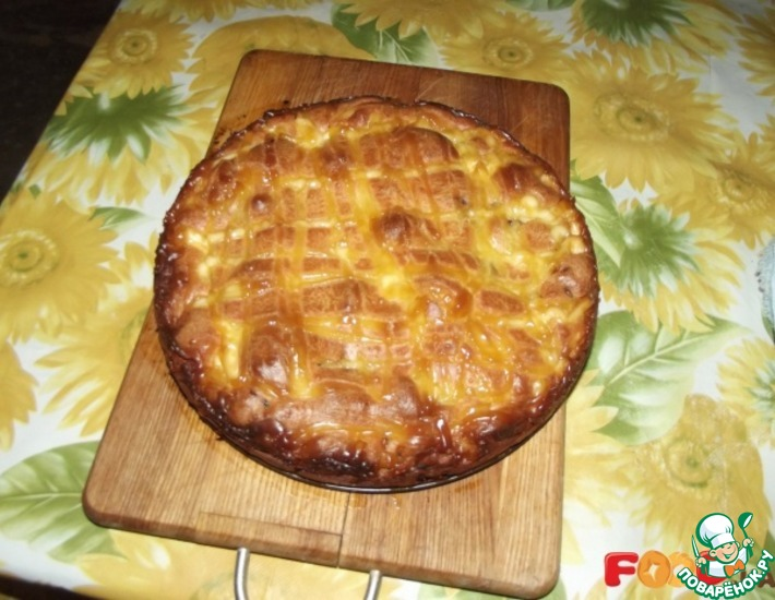 Рецепт: Пирог с грибами