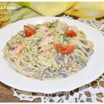 Спагетти с соусом А-морэ