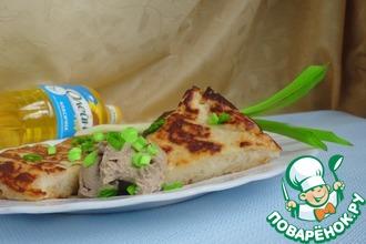 Рецепт: Боксти с сырно-грибным паштетом