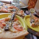 Пицца со шпротами Праздничный перекур