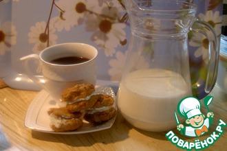 Рецепт: Печенье яблочно-тыквенное Антошка