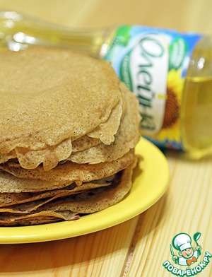 To start, we need pancakes. Any of Your favorite recipe.  I have again today oat milk.