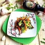 Салат с огурцами по-корейски