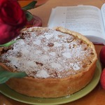 Хрупкий яблочный пирог