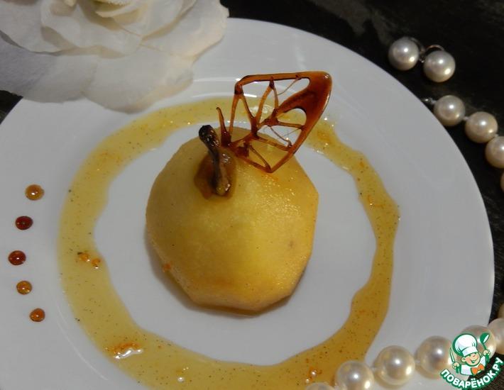 Рецепт: Пряные апельсиновые груши