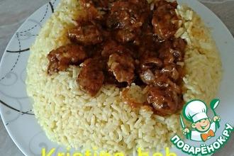 Рецепт: Куриные желудочки в пряном соусе