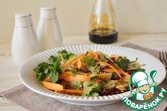Рецепт: Салат из моркови с топинамбуром