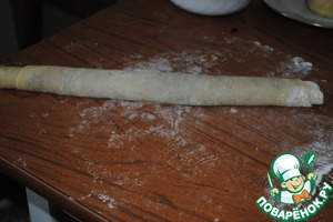 Twisted in a roll