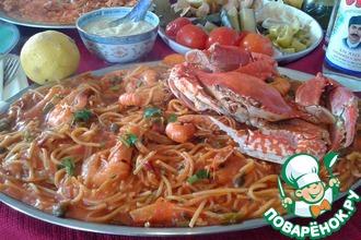 Рецепт: Макаронада Вкус Средиземноморья
