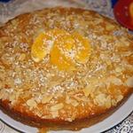 Африканский пирог с кокосом и апельсином
