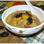 Суп овощной с черносливом и кешью