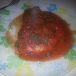 Куриные грудки под томатным соусом