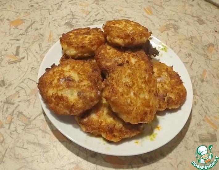 Рецепт: Котлетки из мяса краба