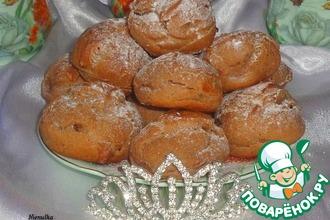 Рецепт: Заварное пирожное Для принцессы