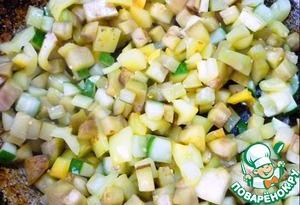 Потушить все овощи до готовности на растительном масле.