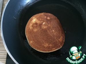 Carefully turn over pancake and fry for another 1-2 minutes