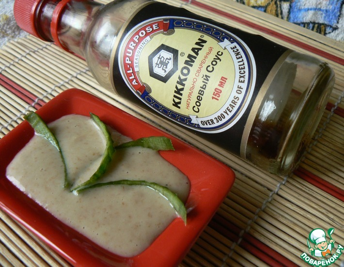 Рецепт: Постный соус А-ля Майонез