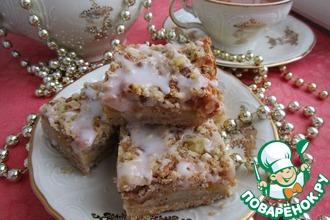 Рецепт: Персиковые пирожные