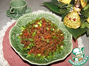 Buckwheat with vegetables