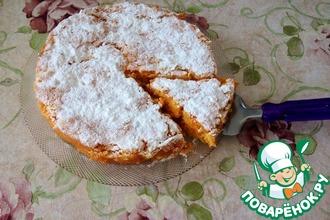 Рецепт: Тыквенно-морковный пирог с лимоном