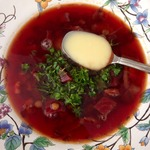Красный-прекрасный суп с чечевицей