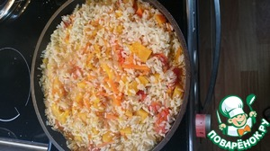 5-7 minutes gently stir and then tormented until fully cooked. Follow the water. The rice should not turn into a mess.
