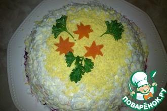 Рецепт: Овощной торт
