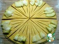 Конвертики с яблоками из творожного теста ингредиенты