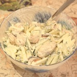 Салат из мидий Легкий