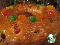 Рождественский пирог трёх королей ингредиенты