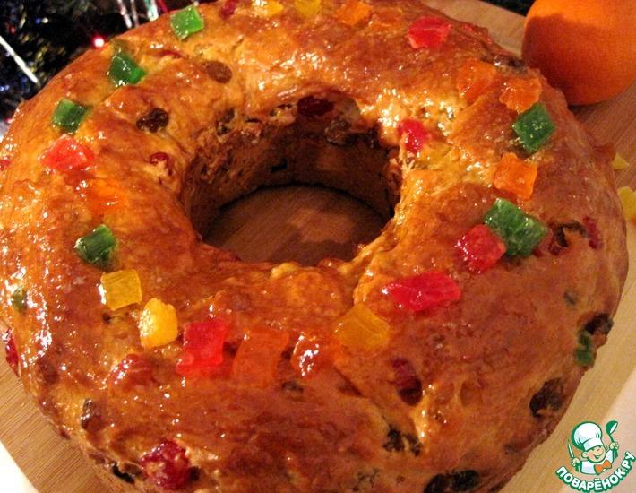 Рецепт: Рождественский пирог трёх королей
