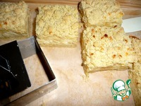 Штрейзельные пирожные с творожно-пудинговой начинкой ингредиенты